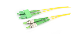 sc fc apc fiber optik patch cord