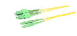 sc mu apc fiber optik patch cord