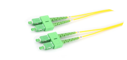 sc sc apc fiber optik patch cord
